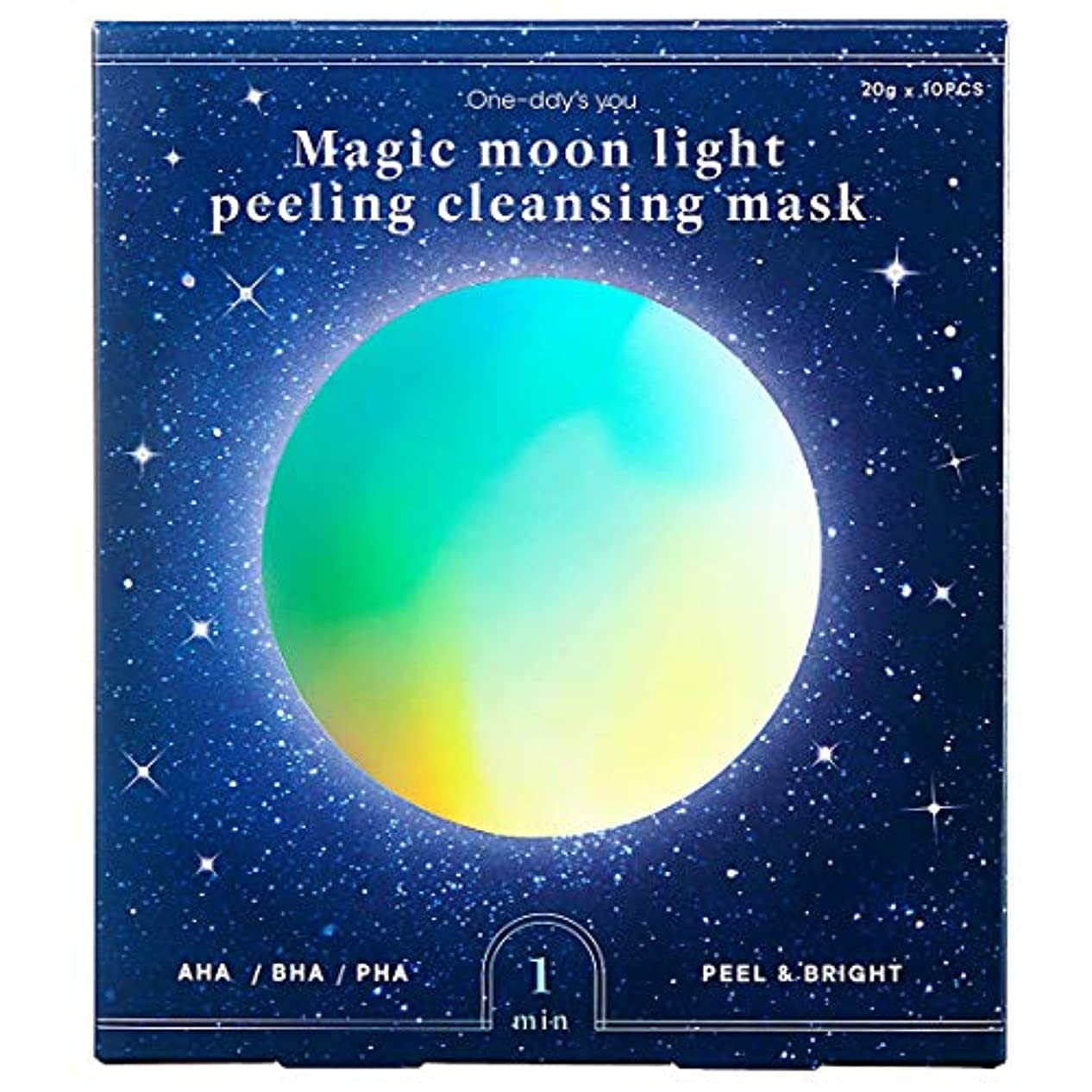 立派な和らげるブラウンOne day's you [ワンデイズユー ] マジック ムーンライト ピーリング クレンジング マスク/Magic Moonlight Peeling Cleansing Mask (20g*10ea) [並行輸入品]