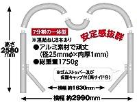 ハートアーチ フレーム単品 (風船・ベースは付属しません)