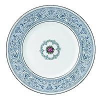 Wedgwood Florentine Dinner Plate, 27cm , Indigo