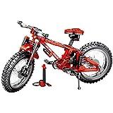 ビルディングブロックのおもちゃ車 ビルディングブロック 組み立ておもちゃ車 組み立て自転車 ビルディングブロック テクノロジー 機械類 ダブルバリアント マウンテンバイク 互換性のあるレゴ ビルディングブロックのおもちゃ 子供 おもちゃ