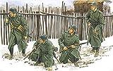 プラッツ 1/35 第二次世界大戦 ドイツ軍 凍てつく大地 コートを着た歩兵 モスクワ 1941 プラモデル DR6190