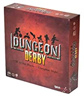 Rabbiteer Dungeon Derby Board Game - A Push Your Luck Strategy Game - Standard Edition - 3-6 Players | Ages 8+ [並行輸入品]