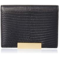 Oroton Women's Cruise Small Fold Wallet, Black, One Size