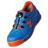 ディアドラFINCH【安全靴】(JSAA A種合格・ワイヤーレース)≪092-FC≫ (26.0, 474-ブルー×オレンジ)