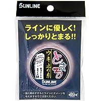 サンライン(SUNLINE) ウキ止め糸 とまる ウキ止め糸 M 3m ナイロンウーリー ピンク