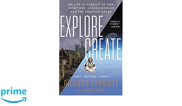 amazon explore create my life in pursuit of new frontiers hidden