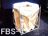 【国産】フレコンバッグスタンド(FBS-4) 933(W)×933(D)×1050(H) 【K】