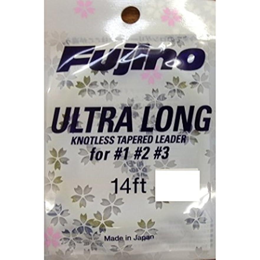 驚いたことに下オーバードローFujino(フジノ) ウルトラロングリーダー 14ft 4X