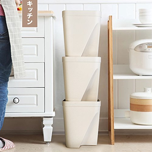 iOCHOW『ゴミ箱3段縦置き分別タイプ』