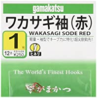 がまかつ(Gamakatsu) ワカサギ袖(赤) 1号