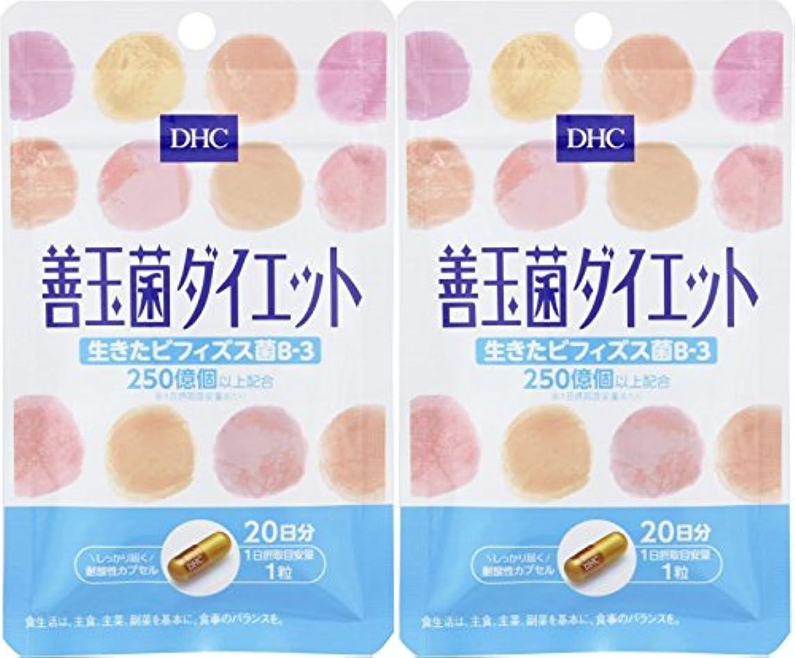 下向き愛情深い鉄道駅【セット品】DHC 20日善玉菌ダイエット 2個セット