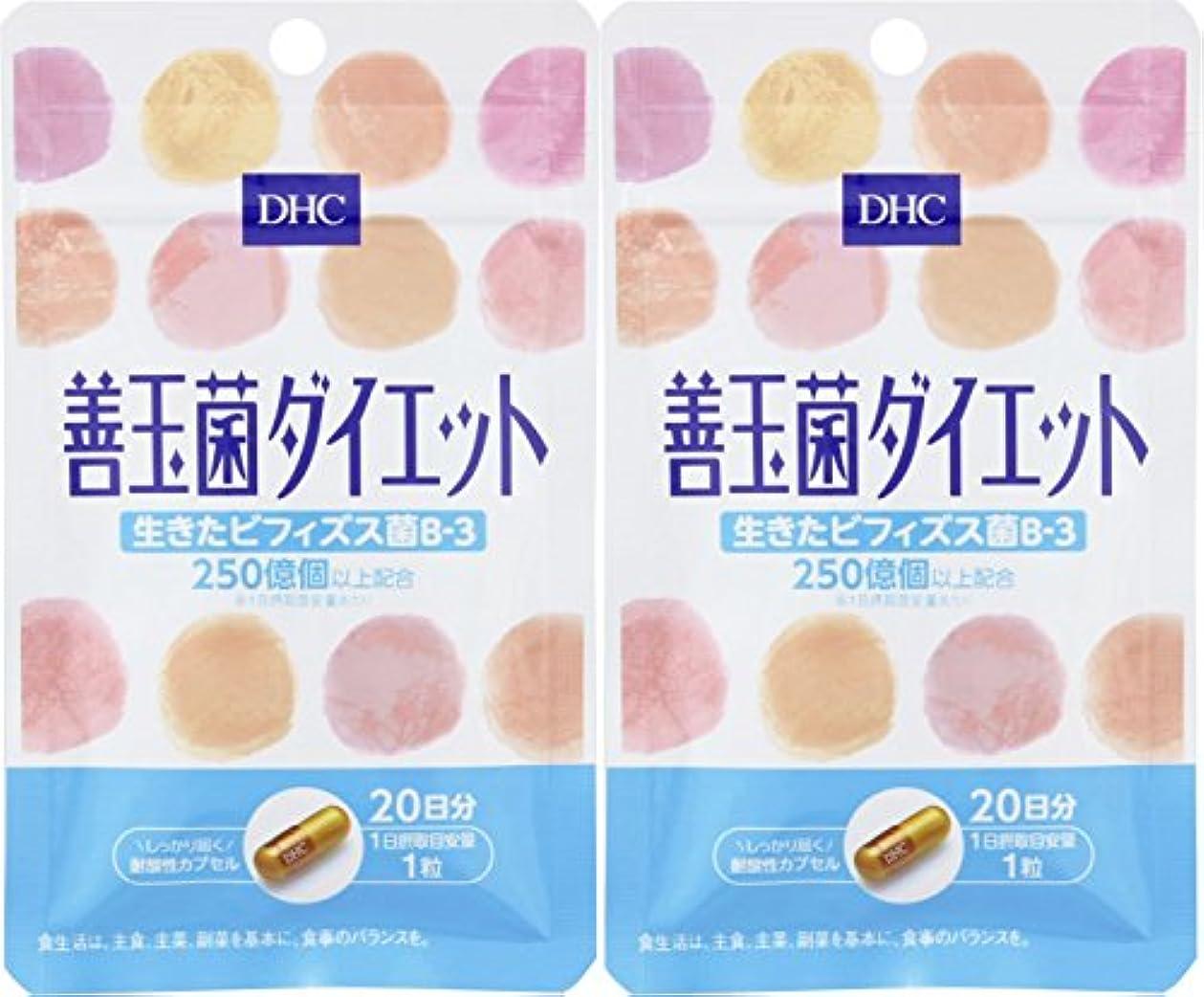 コークス経験者出席【セット品】DHC 20日善玉菌ダイエット 2個セット