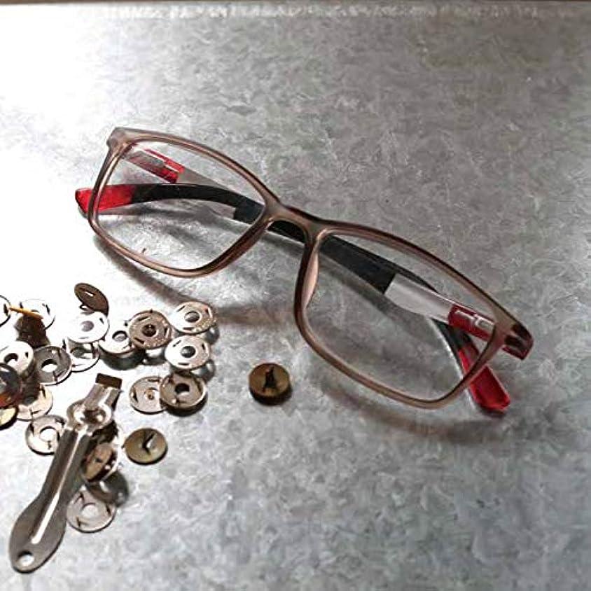 YGK105/BONOX/ダルトン/おしゃれ/老眼鏡/シニアグラス/Reading Glasses/ (2.5, SRD/SMOKE_RED)