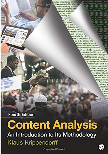 Download Content Analysis: An Introduction to Its Methodology (NULL) 150639566X