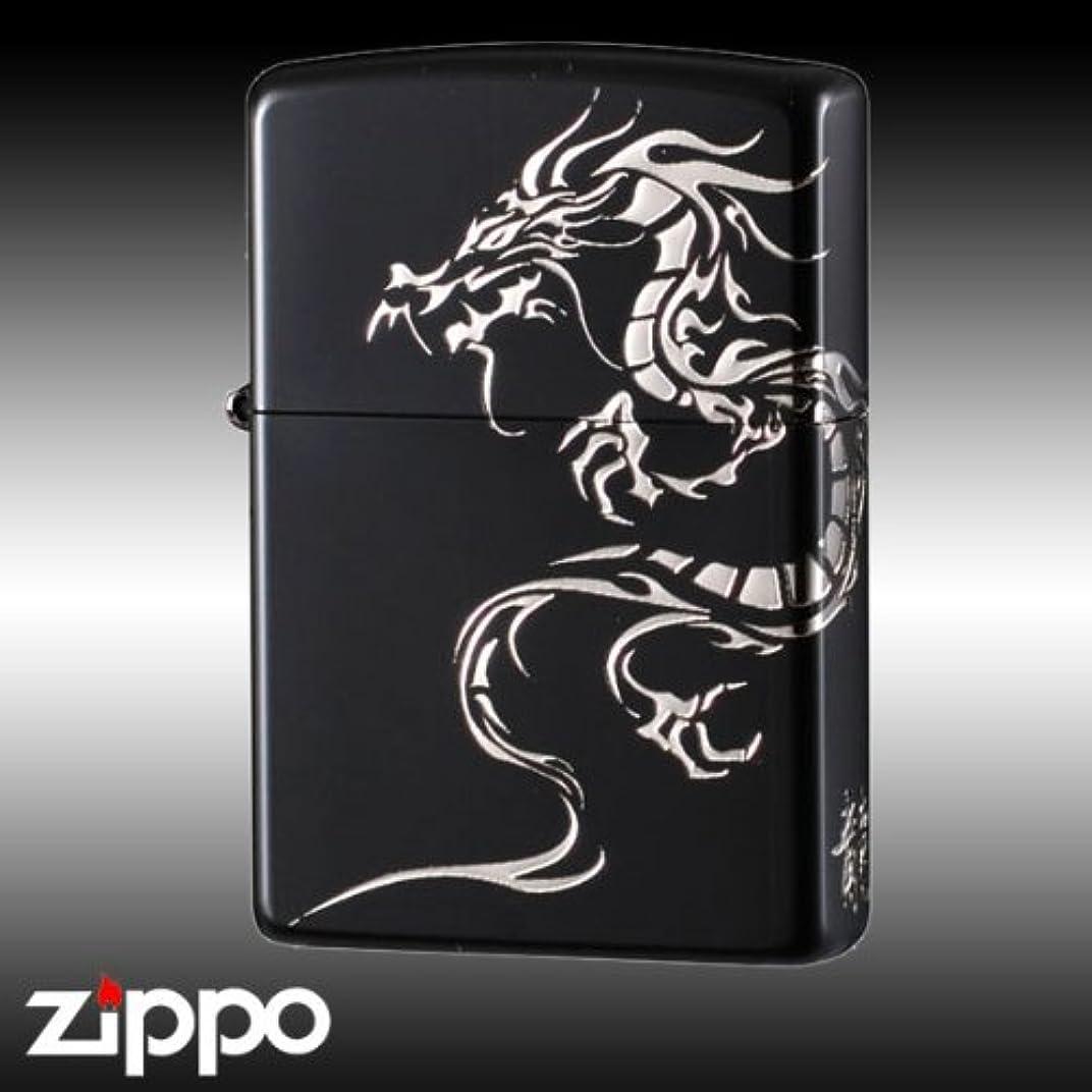 電気的インフラ変動するzippo ジッポーライター タイガーアンドドラゴン2BKSDR