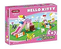 [オックスフォード] Oxford ハローキティスライド遊び場 (Hello Kitty Slide Playground) #HK30119 ビルディングブロックセット131pcs (6歳以上の) [海外直送品]