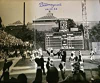 TSE ビル・マゼロスキー サイン入り 1960年ワールドシリーズ クレメンテのお祝い 16X20 写真 「10-13-60」