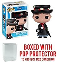 Funko POP 。Disney Series 5 : Mary Poppins Vinyl Figure (バンドルwith Popボックスプロテクターケース)