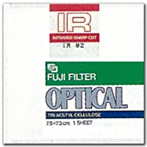 FUJIFILM 光吸収・赤外線透過フィルター(IRフィルター) 単品 フイルター IR 78 7.5X 1