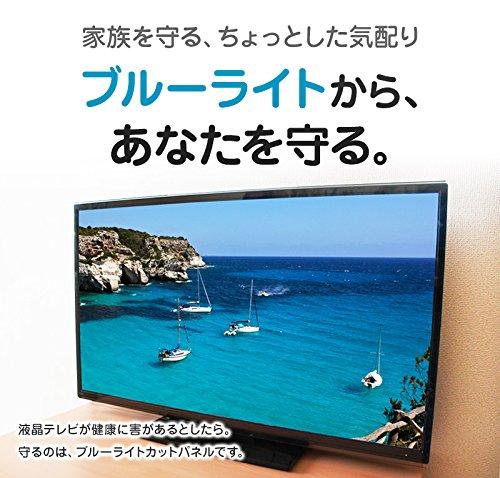 ブルーライトカット液晶テレビ保護パネル43型(43インチ)(43MBL3)