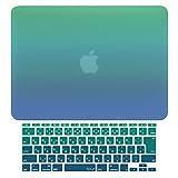MS factory MacBook Air 13 ケース + 日本語 キーボード カバー 2010年 ~ 2017年モデル 対応 ハードケース グラデ4種/単色14色 RMC series マックブック エア 13.3 インチ マット加工 Mavericks RMC-SETA13-MVC