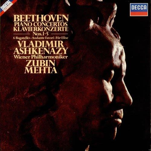 Piano Concertos #1-5 [Analog]