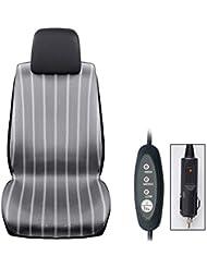ChengChengHAO 冬席換気クッション暖房カーシートクッション12V 24Vヘアドライヤークッショントラッククーリングパッド (Size : 12V)