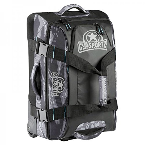 GI Sportz Paintball Fly ' r 2.0 Carry Onギアバッグ – Tigerブラック