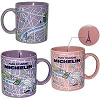 【MICHELIN】マグカップ/マップ/パリ (ピンク 画像右)