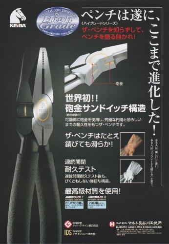 ケイバ(KEIBA) ハイグレード ザ ラジオペンチ FC-306