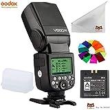 Godox V860IIC E-TTL フラッシュ・スピードライト フラッシュ ・ストロボ 2.4G 無線ラジオシステム 内蔵リチウムオン電池付き Canon 1DX/5D Mark III/5D Mark II/6D/7D/60D/50D/40D/30D/650D/600D デジタル一眼レフカメラ用