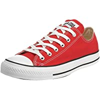 Converse Unisex Chuck Taylor All Star OX Sneaker (4 US Men / 6 US Women, Red.)