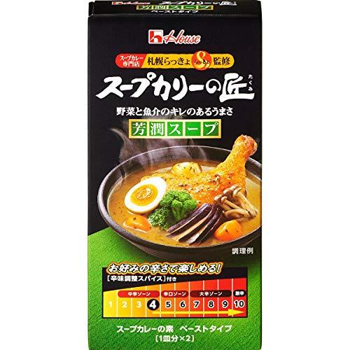 ハウス スープカリーの匠 芳醇辛口 89g×4個