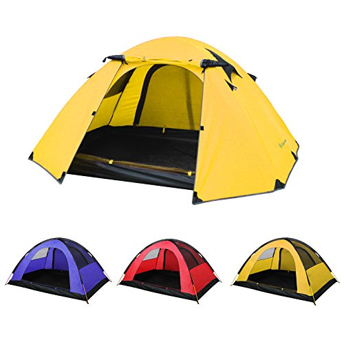 SKYLINK テント 2-3人用 軽量 防水 キャンプ アウトドア 登山用 4シーズンに適用