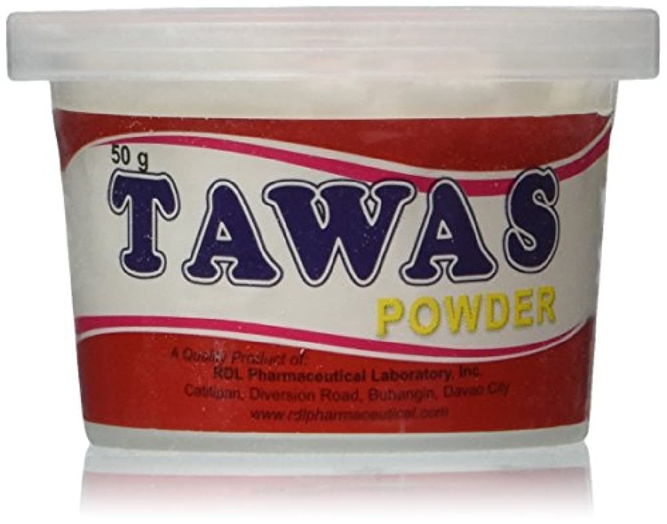 近傍デジタルトロリーバスRDL Tawas Powder (Alum Powder) 50grams (Red) by RDL