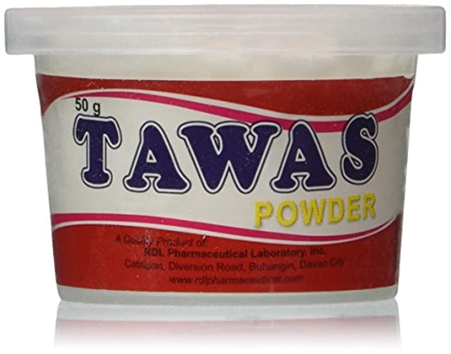 同行する質量服を片付けるRDL Tawas Powder (Alum Powder) 50grams (Red) by RDL