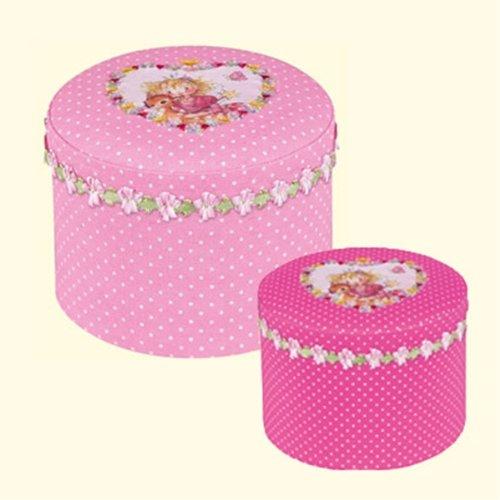(シュピーゲルブルグ) SPIEGELBURG プリンセスリリー Princess Lillifee 丸型BOX2個セット
