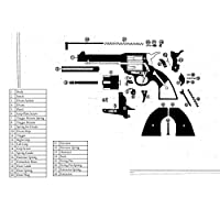 Bisley Spring for Drum for Single Action Revolver