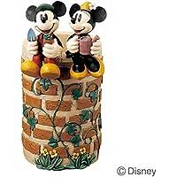 傘立て かさ立て ディズニー ミッキーマウスとミニーマウス 受け皿付き