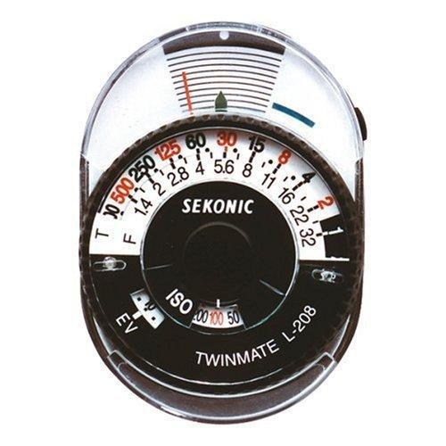 セコニック 【並行輸入品】Sekonic L-208 Twin Mate Light Meter (Black/White)