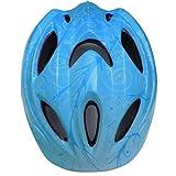 12ベントヘルメット 子ども 用 キッズ 幼児 Aliciga 可愛い自転車ヘルメット 軽量 サイクリングヘルメット 調整可能 (ブルー)