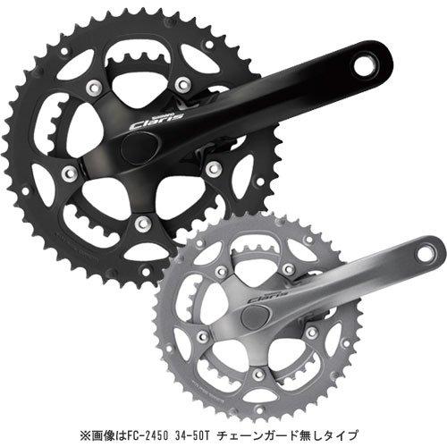 SHIMANO(シマノ) FC-2450 ・対応BB オクタリンクES 113mm 34X50T 170mm シルバー FC-2450