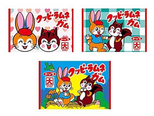 クッピーラムネガム 55個入 BOX(食玩・ガム)