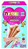 江崎グリコ カプリコミニともだちブーケ(つぶつぶいちご味) バレンタイン チョコレート 9本 ×4個
