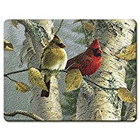 Feathered Friends - Large Glass Cutting Board