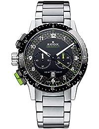 Edox(エドックス) SwissMade クロノグラフ メンズ 腕時計 103053NVM NV Chronorally 1 [並行輸入品]