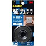 3M スコッチ 強力両面テープ 外壁面用
