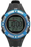 [ダッシュ]Dash 腕時計 電波ソーラーウォッチ ブラック×ブルー AD06518RCSOL-8 メンズ