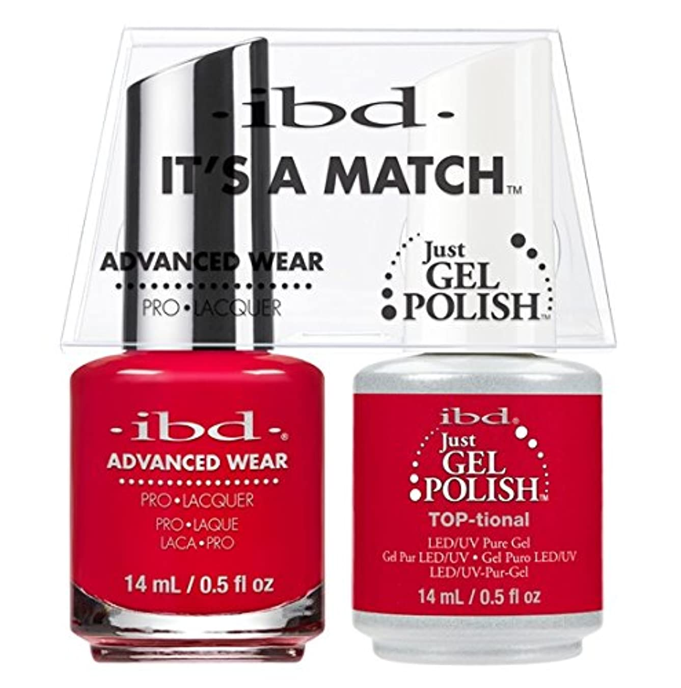 ibd - It's A Match -Duo Pack- TOP-tional - 14 mL / 0.5 oz Each