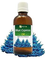 Blue Cypress Oil (Callitris columellaris syn C. intratropica) 100% Natural Pure Undiluted Uncut Essential Oil...